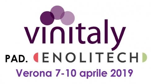 Enolitech-Vinitaly 2019 Verona 7-10 апреля 2019